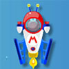 Play Mario Space Racing – Mario is on a spaceship racing on the